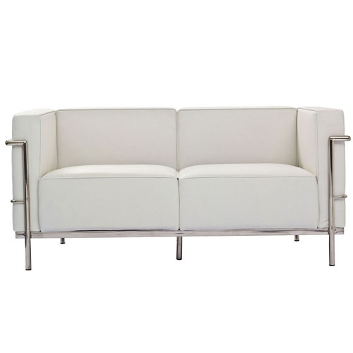 REPLICA LC3 2 SEATER SOFA (PU) - 130 CM