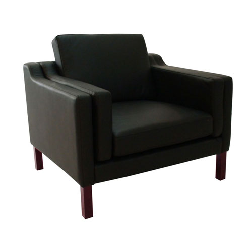 REPLICA BORGE MOGENSEN ARMCHAIR (HALF LEATHER)