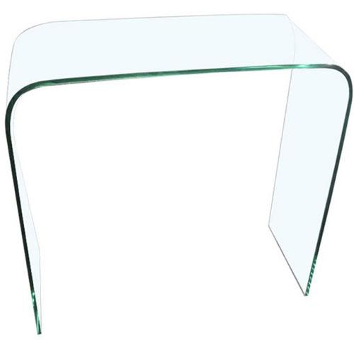 AIDA BENT GLASS CONSOLE TABLE (110 x 40 CM)