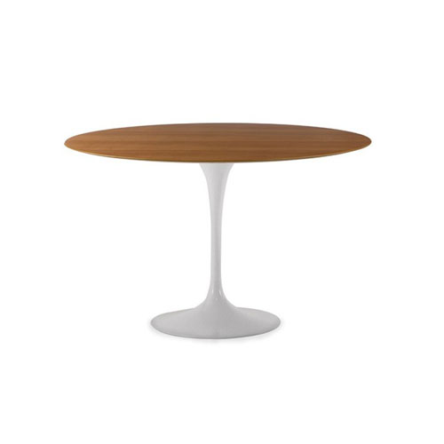 REPLICA TULIP TABLE - ROUND PLYWOOD TOP (90 CM)