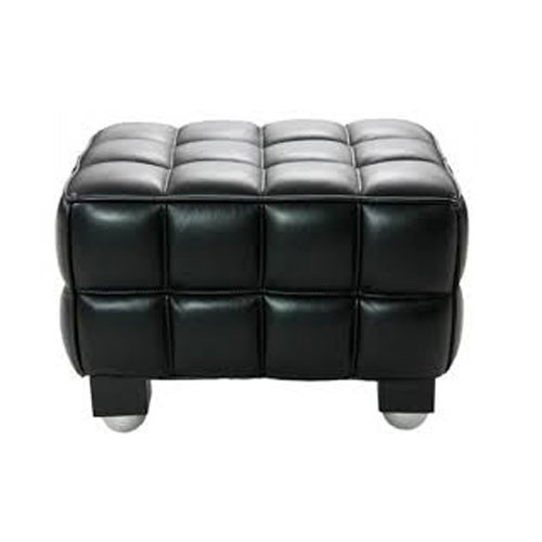 REPLICA KUBUS POUF (HALF LEATHER)