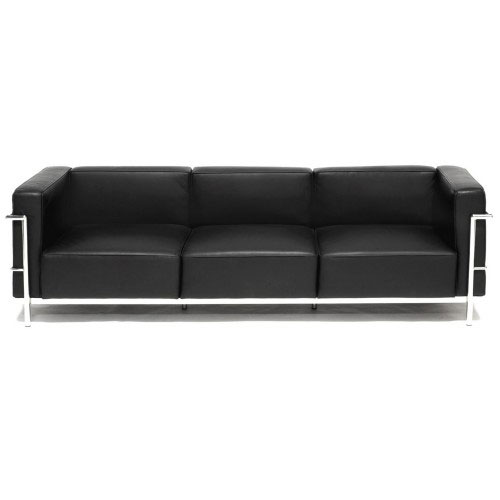 REPLICA LC3 3 SEATER SOFA (HALF LEATHER) - 210 CM