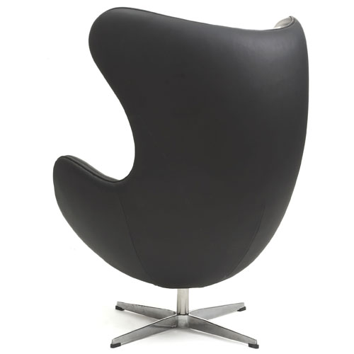 chairs chairs lounge chairs replica egg chair full leather. Black Bedroom Furniture Sets. Home Design Ideas