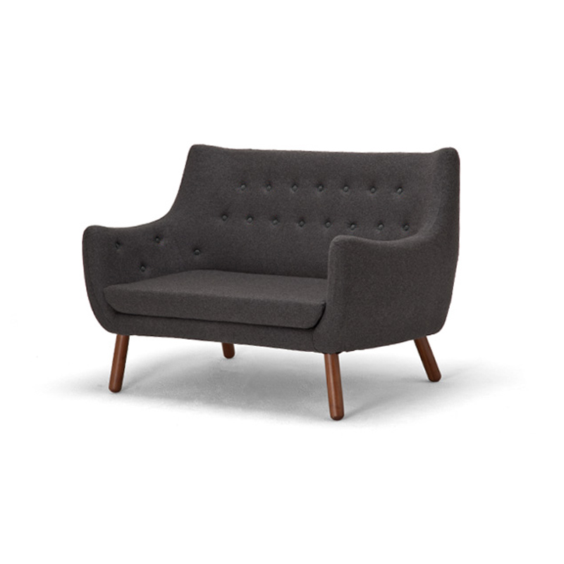 Replica Finn Juhl Poeten 2 Seater Sofa