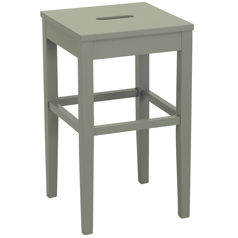 TYRA NORDIC HOME WOODEN COUNTER STOOL