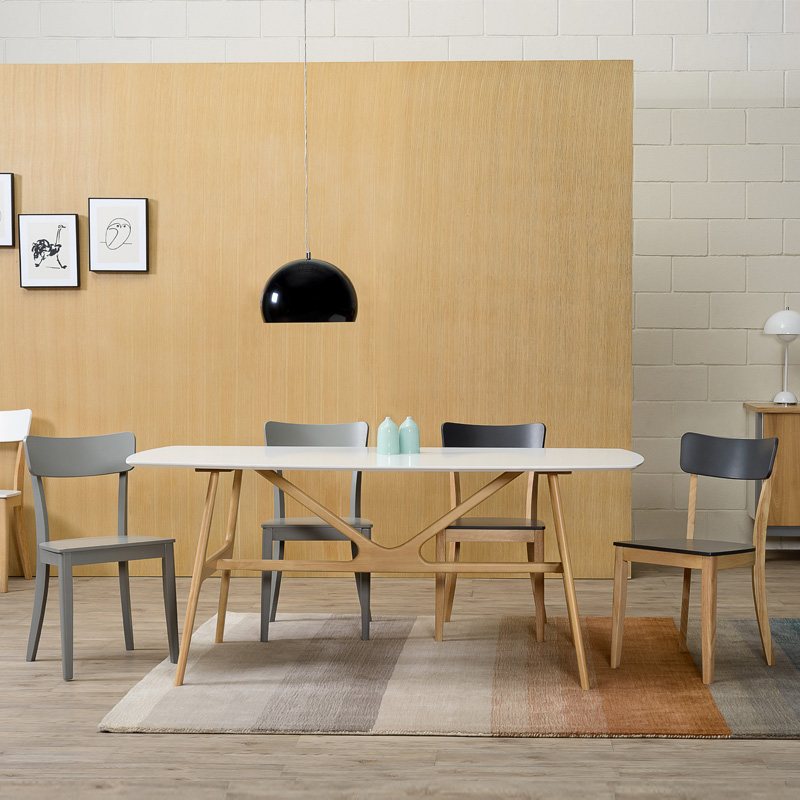 CRAIG NORDIC HOME DINING TABLE