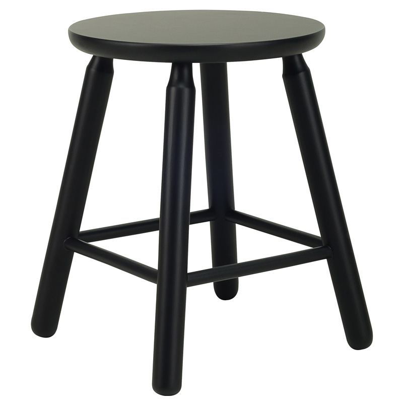 BENI NORDIC HOME LOW WOODEN STOOL