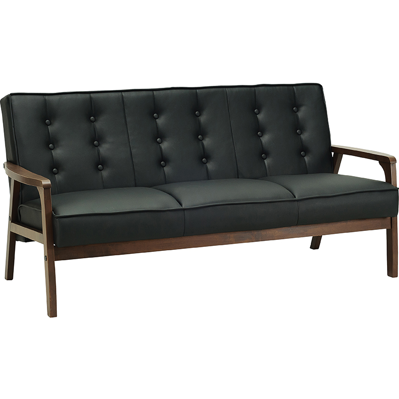 BRITT NORDIC HOME 3 SEATER SOFA (PU)