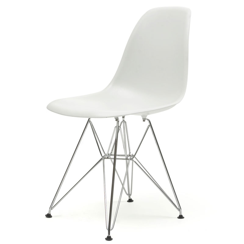 EAMES STYLE DSR WIRE BASE CHAIR (PLASTIC)