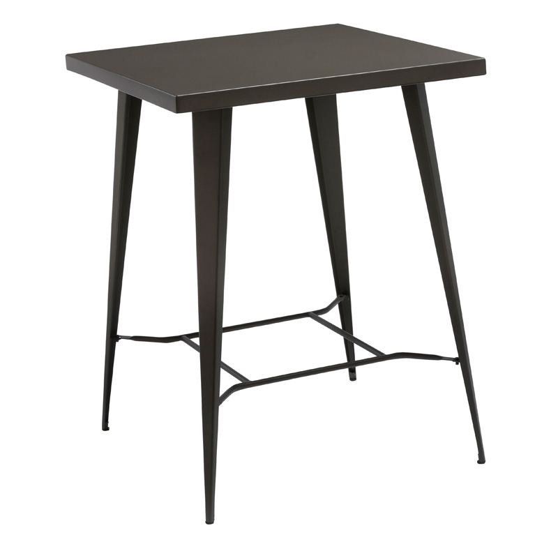 DUSK INDUSTRIAL STYLE SQUARE BAR TABLE
