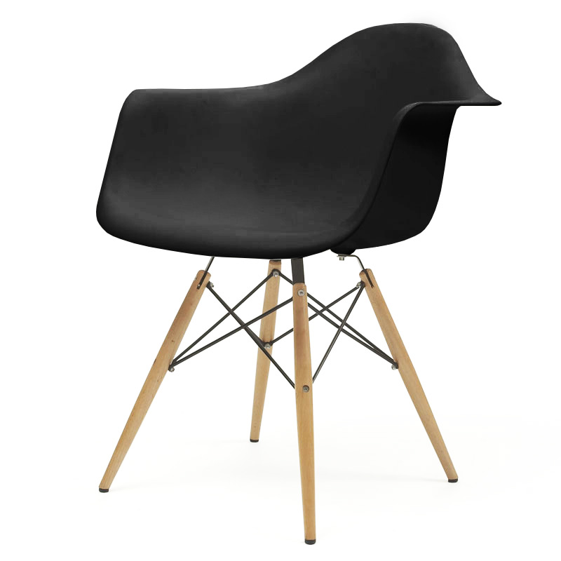 Eames daw chair gallery of chaise patchwork with eames for Vitra rar replica