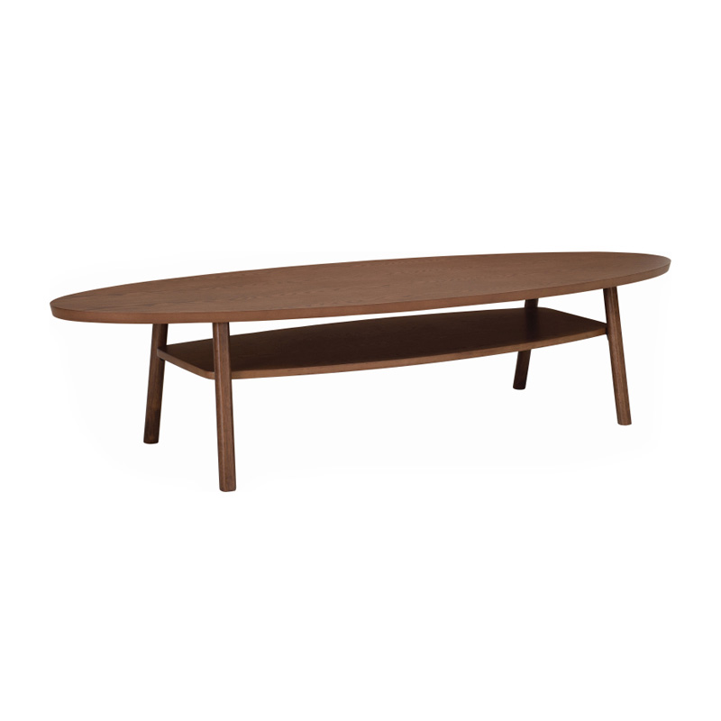 PERCY NORDIC HOME COFFEE TABLE WITH SHELF