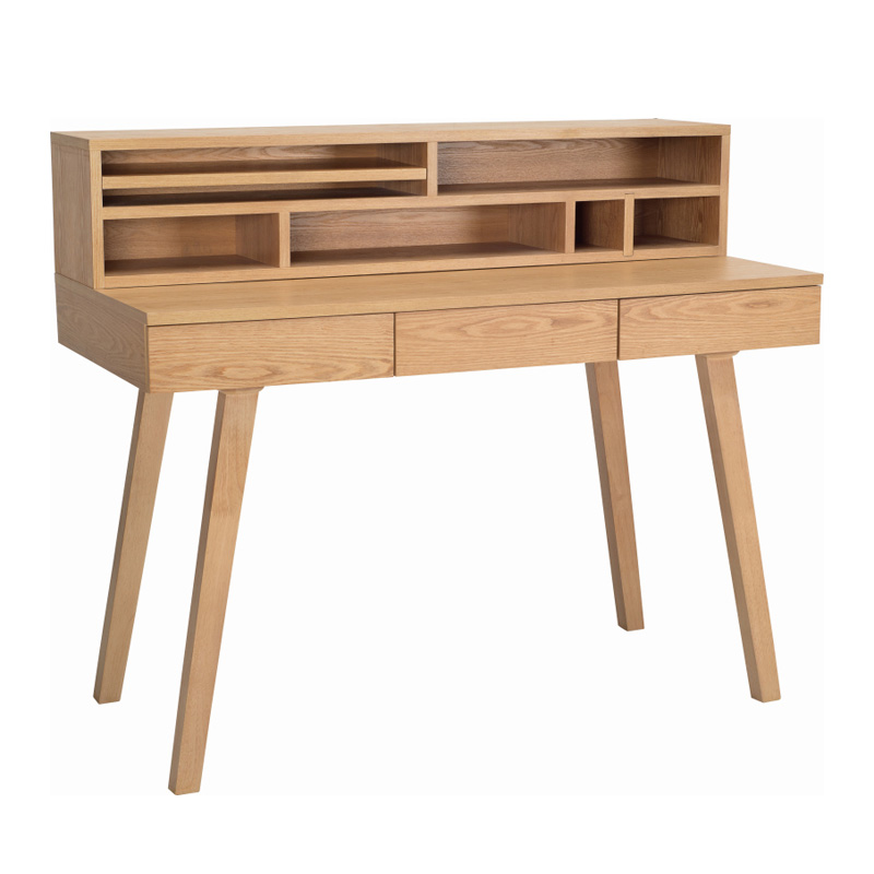 GABBY NORDIC HOME WORKING DESK WITH WALL STORAGE