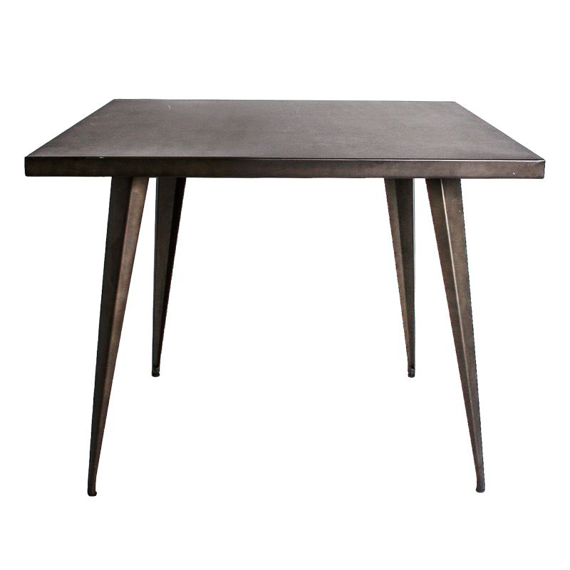 ANSEL INDUSTRIAL STYLE SQUARE DINING TABLE (81 CM)