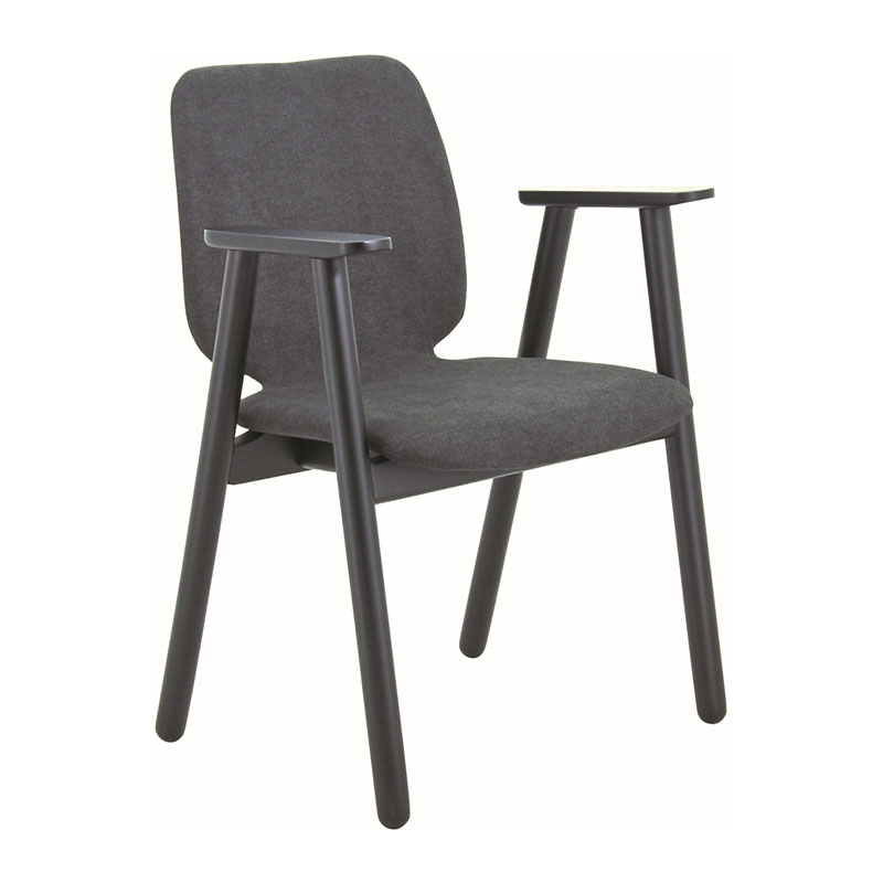 CLEO NORDIC HOME DINING CHAIR  WITH ARMREST