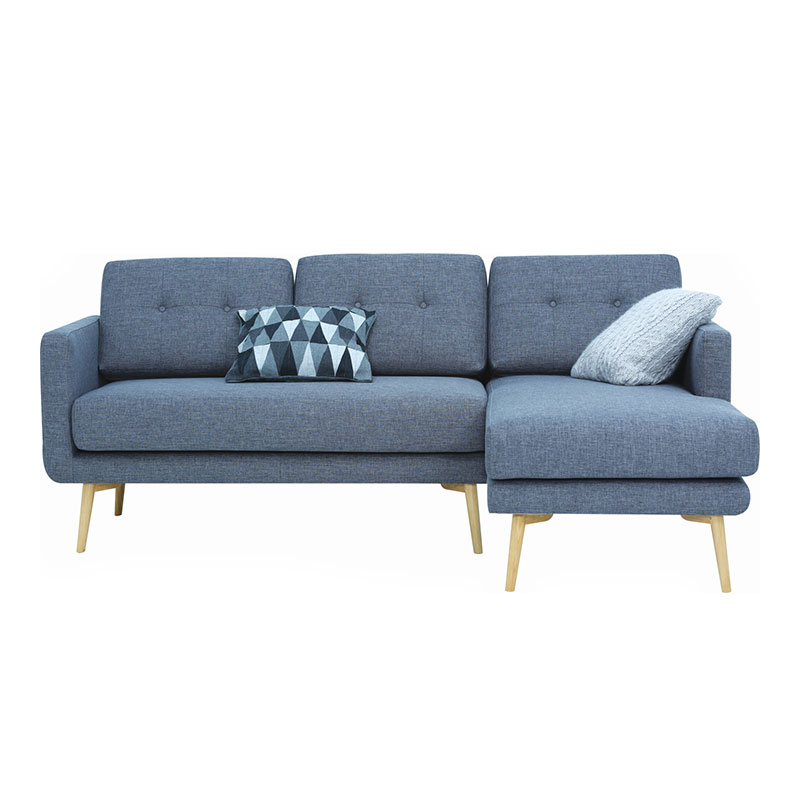 FLAIR NORDIC HOME 3 SEATER WITH LEFT CHAISE SOFA