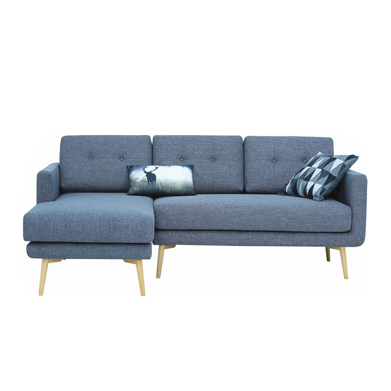 FLAIR NORDIC HOME 3 SEATER WITH RIGHT CHAISE SOFA