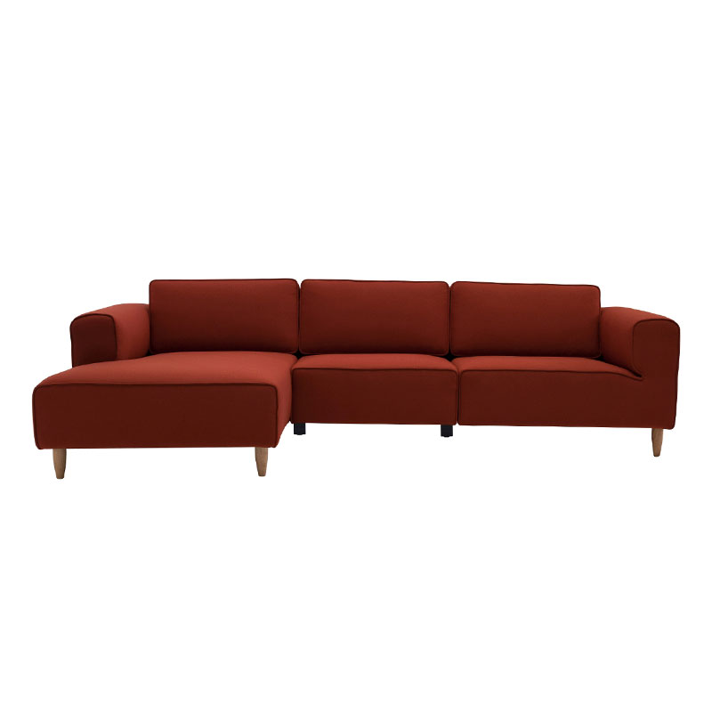 CAMERON NORDIC HOME 3 SEATER SOFA WITH RIGHT CHAISE