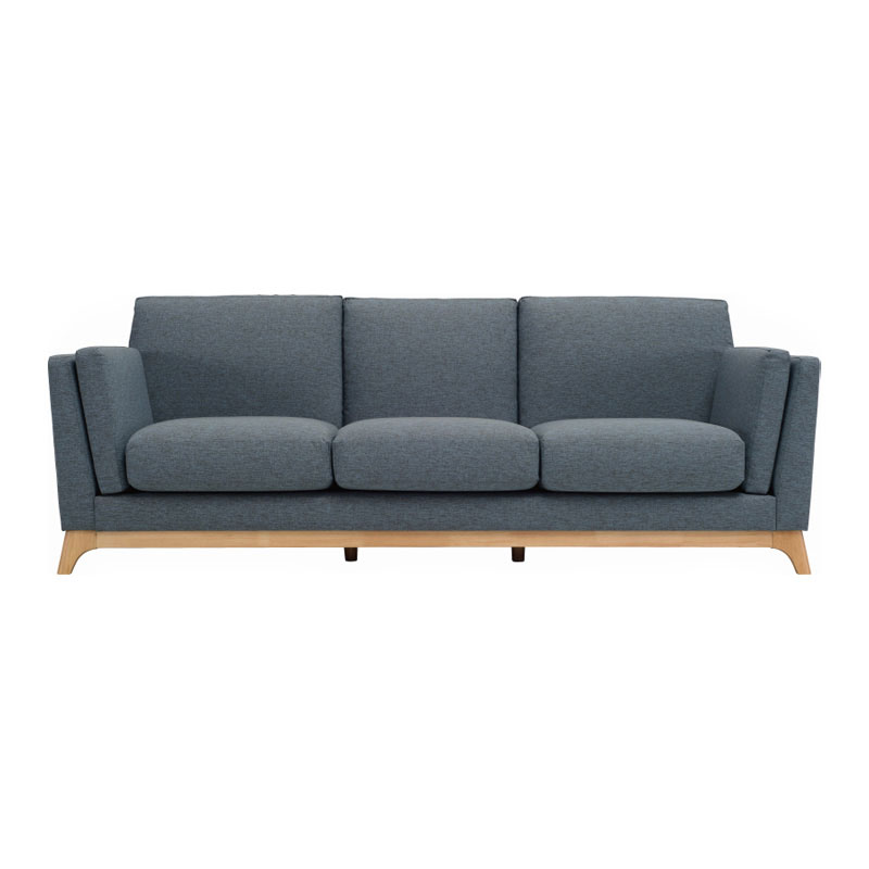 REX NORDIC HOME 3 SEATER SOFA (FABRIC)