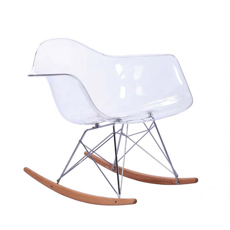 REPLICA EAMES RAR CHAIR ROCKER BASE (TRANSPARENT)