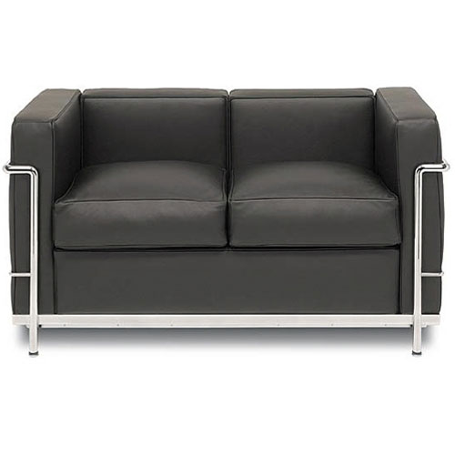 REPLICA LC2 2 SEATER SOFA (PU)