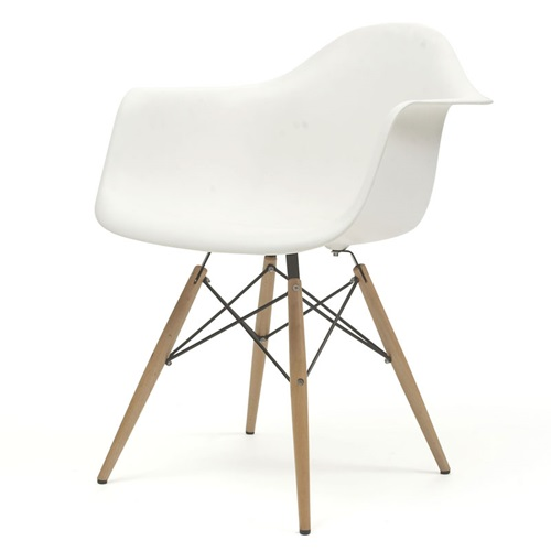 REPLICA EAMES PLASTIC CHAIRS WITH ARM