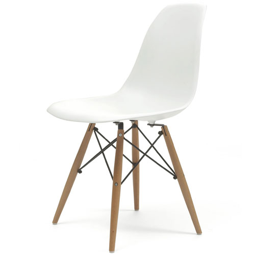 REPLICA EAMES PLASTIC CHAIRS WITHOUT ARM