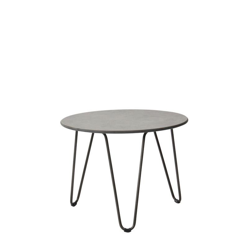 FLASH STEEL ROUND COFFEE TABLE