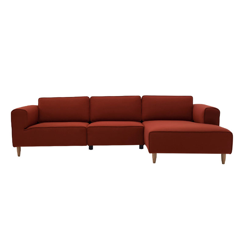 CAMERON NORDIC HOME 3 SEATER SOFA WITH LEFT CHAISE
