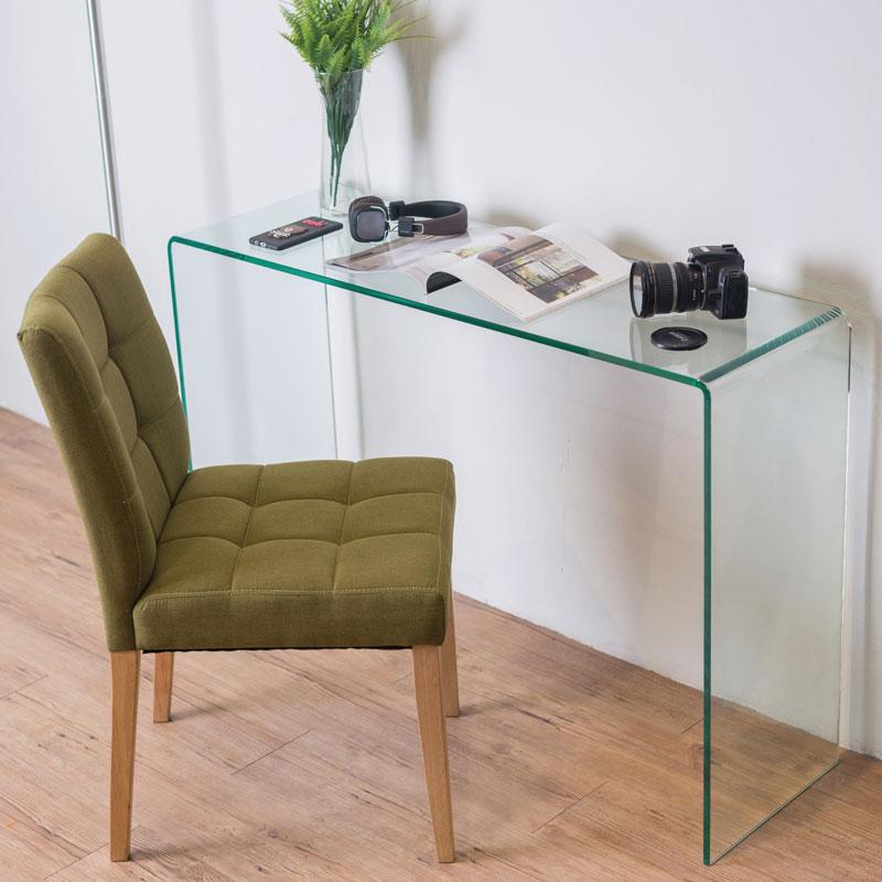 Chicago Bent Glass Desk Previous Next