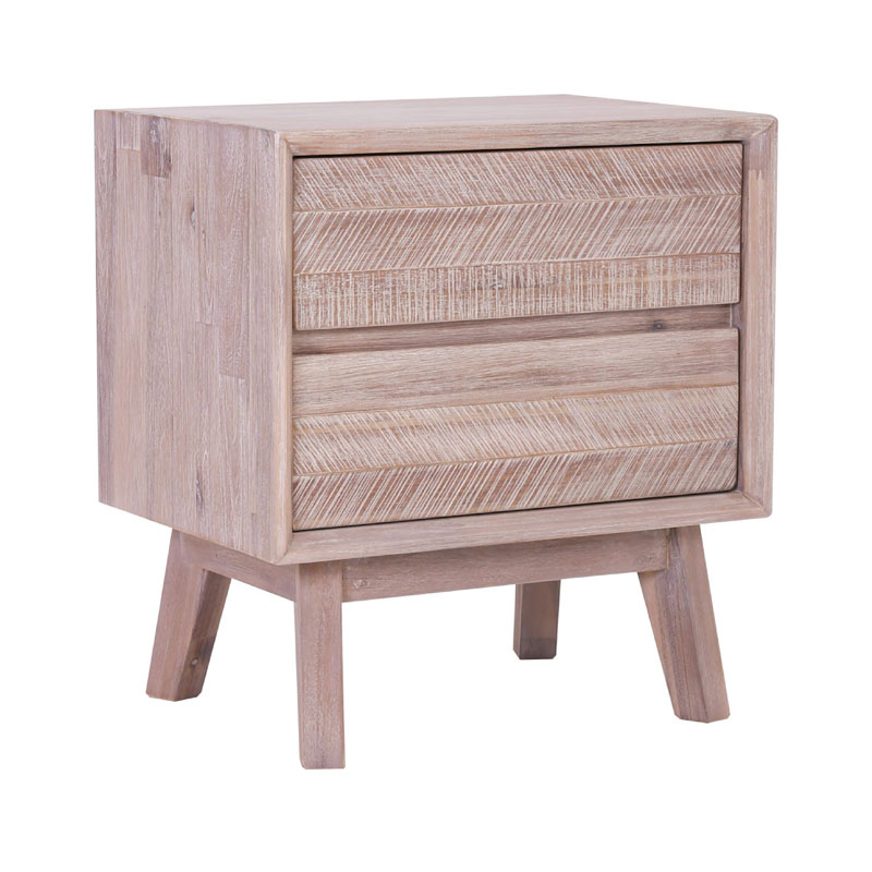 FLINT NIGHT STAND (2 DRAWER)