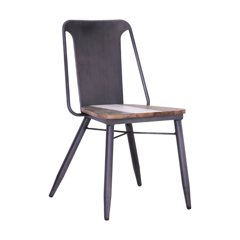 WILTON STEEL DINING CHAIR