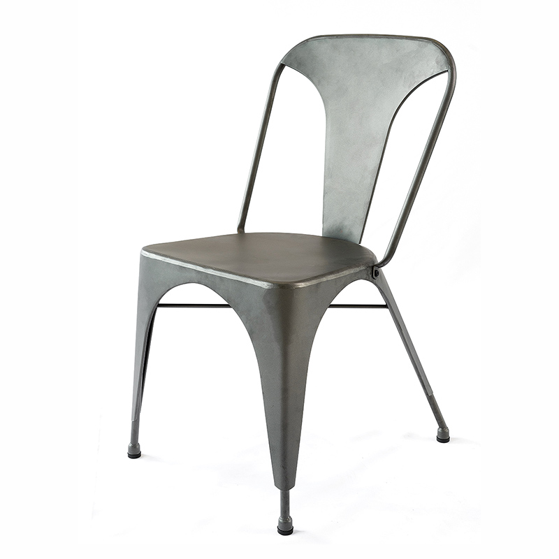 LYNX INDUSTRIAL STYLE DINING SIDE CHAIR