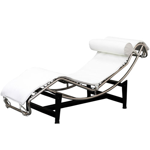REPLICA LE CORBUSIER LC4 CHAISE LOUNGE (HALF LEATHER)