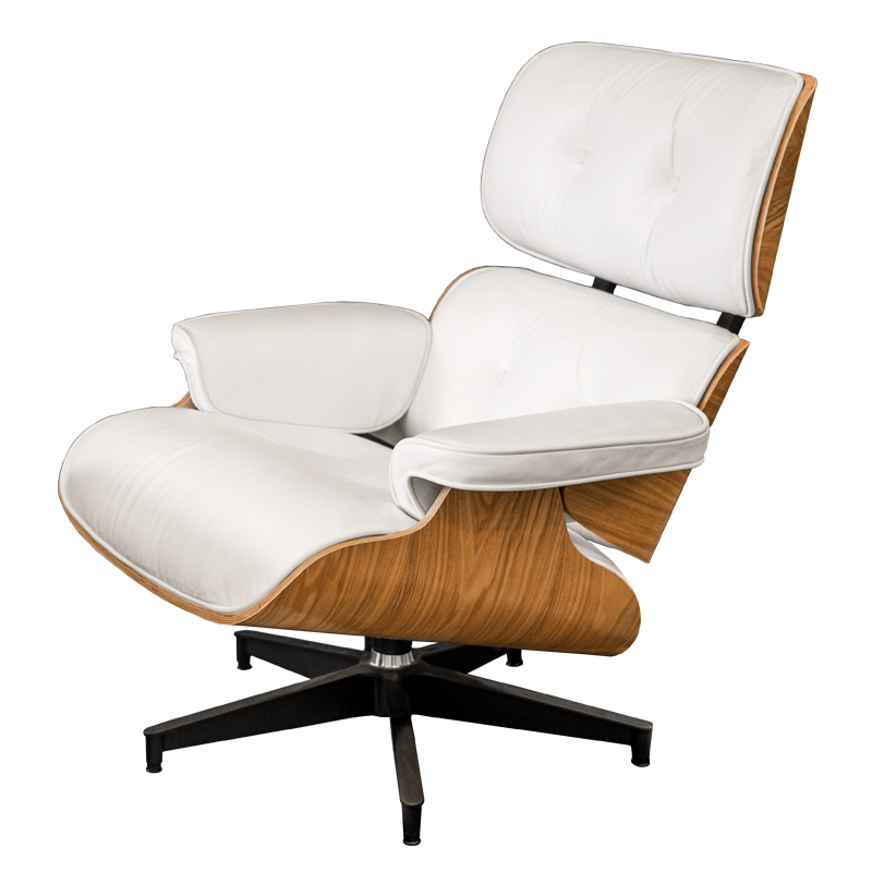 REPLICA EAMES LOUNGE CHAIR (FULL LEATHER)