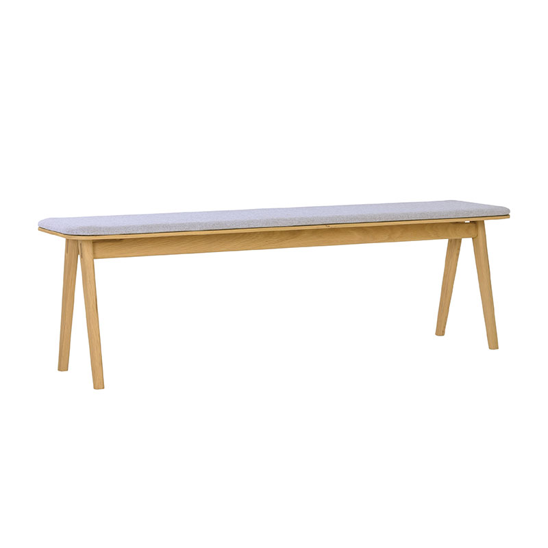 FLYNN DINING BENCH (OAK WOOD)