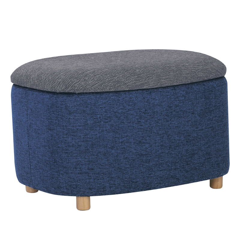 LENA SMALL STORAGE POUF