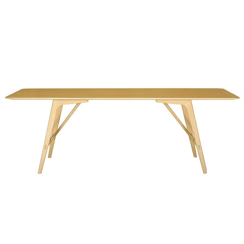 TRAVIS RECTANGLE DINING TABLE (OAK)