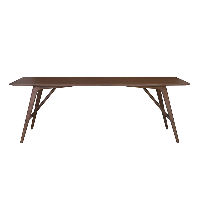 TRAVIS RECTANGLE DINING TABLE (WALNUT)