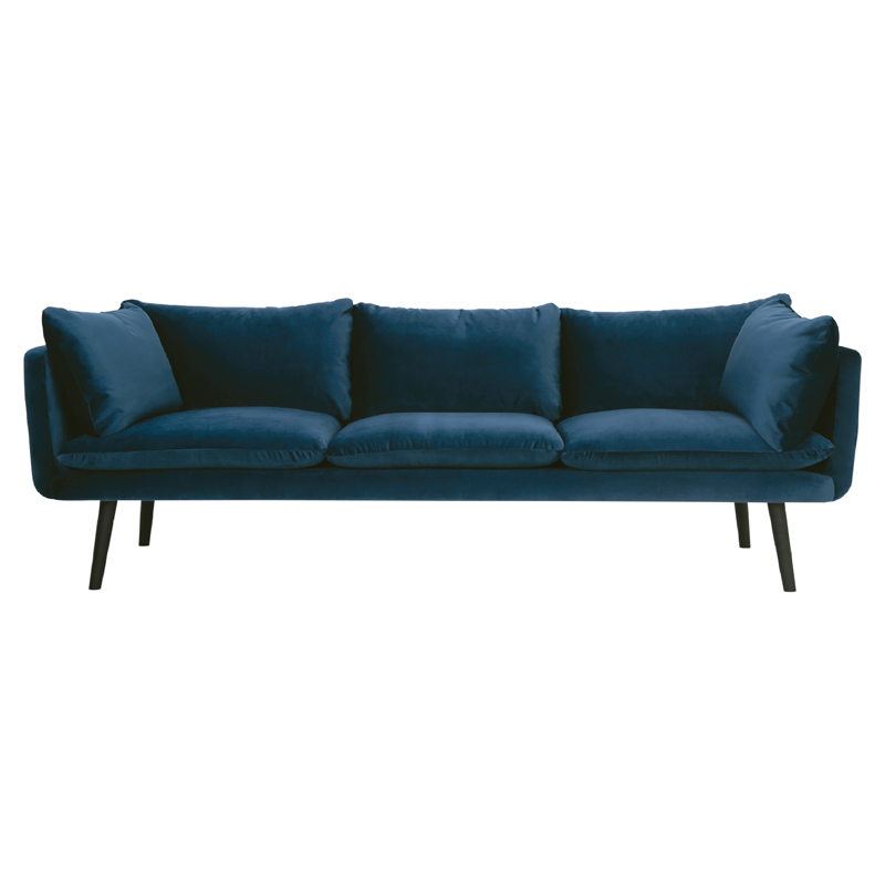 DORIS 3 SEATER SOFA (FABRIC)