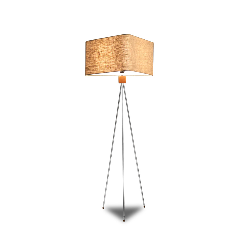 TRILOGY FLOOR LAMP - TRIANGLE LAMP SHADE (MEDIUM)