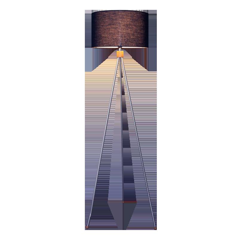 TRILOGY FLOOR LAMP - ROUND LAMP SHADE (MEDIUM)