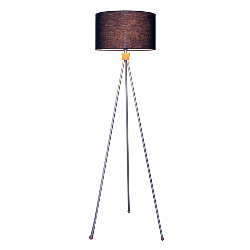 TRILOGY FLOOR LAMP - ROUND LAMP SHADE (SMALL)