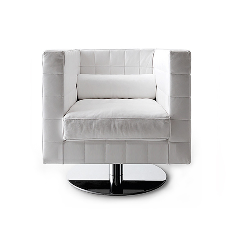 MARLOW LOUNGE CHAIR (HALF LEATHER)