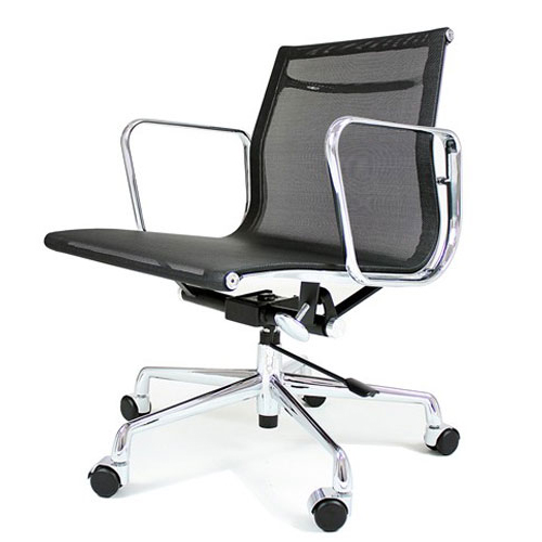 REPLICA EAMES LOW BACK OFFICE CHAIR (MESH)