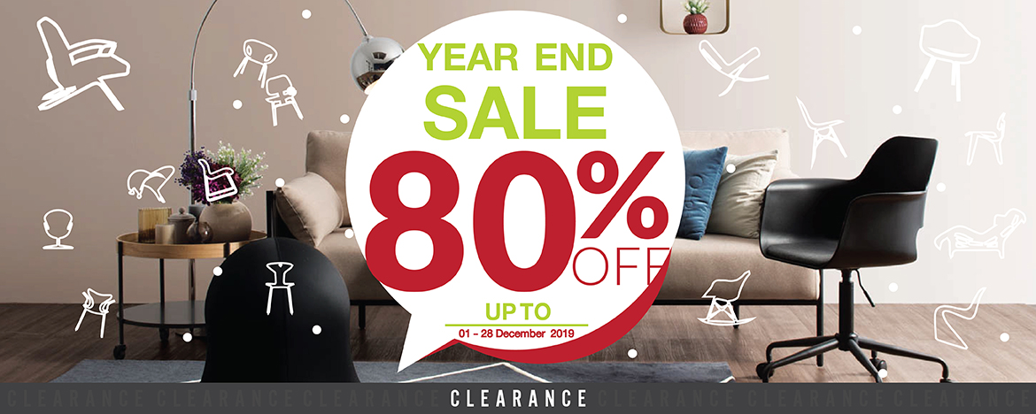 CLEARANCE YEAR END SALE 2019