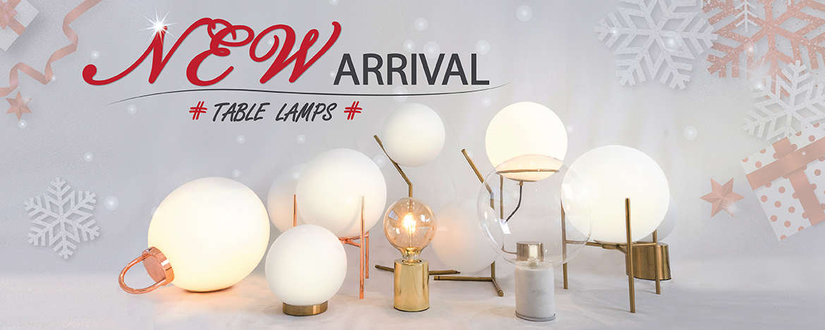 NEW ARRIVAL Table lamps