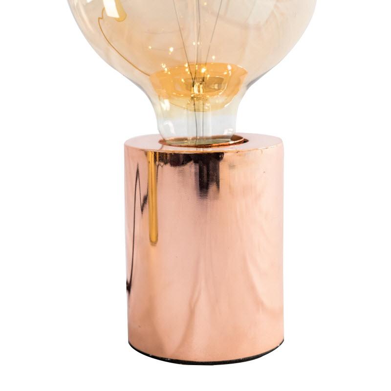 SOCKET TABLE LAMP INCLUDING BULB