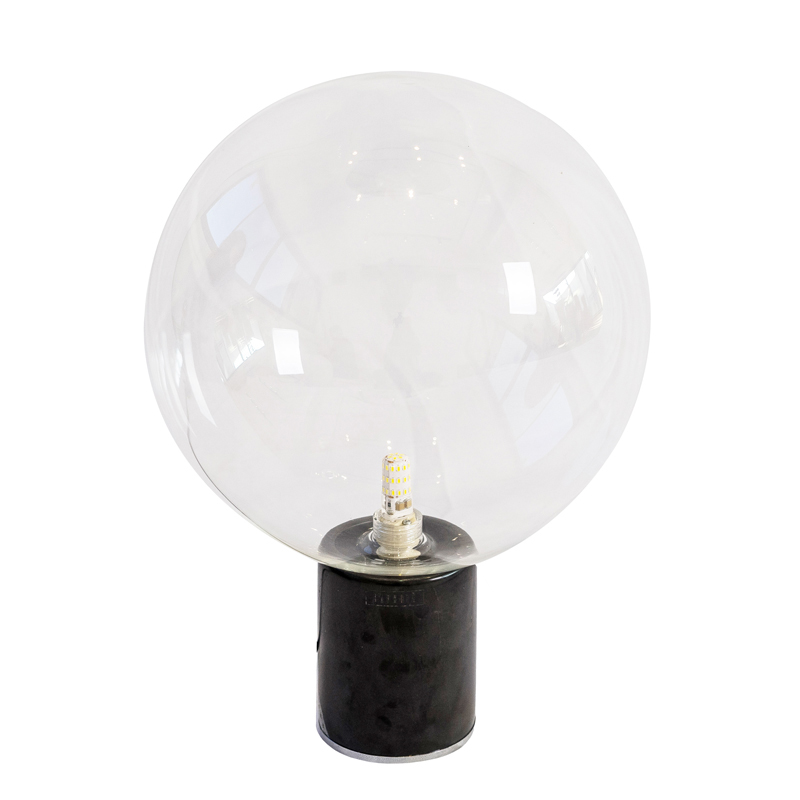 EXTRA CHIC TABLE LAMP - CLEAR GLASS
