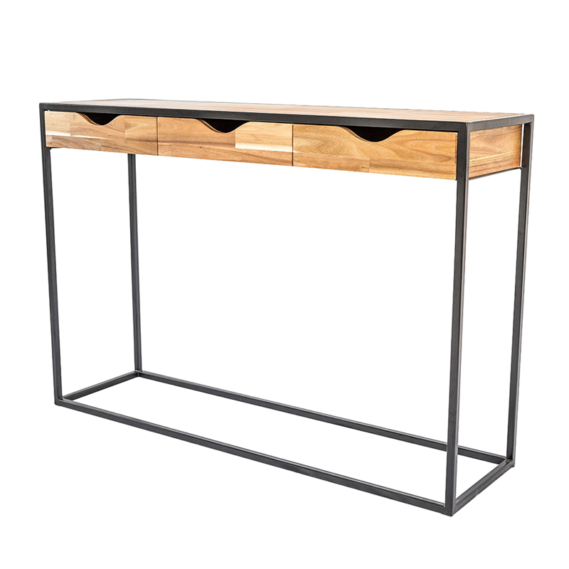 LOFT STYLE ENTRANCE CONSOLE WITH DRAWER